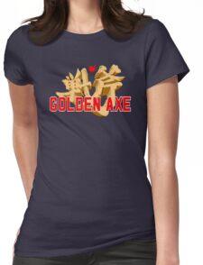 GOLDEN AXE TITLE SCREEN Womens Fitted T-Shirt