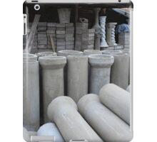 Concrete Pipe Factory iPad Case/Skin
