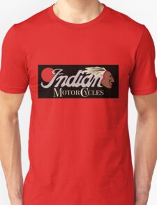 Red Indian Motor Cycles Unisex T-Shirt