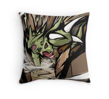 Mega Tyranitar   Stone Edge Throw Pillow
