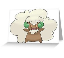 Pokemon Whimsicott Greeting Card