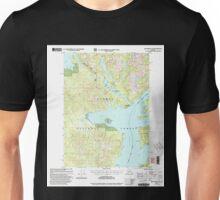 USGS TOPO Map Alaska AK Ketchikan D-6 356752 2000 63360 Unisex T-Shirt