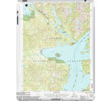 USGS TOPO Map Alaska AK Ketchikan D-6 356752 2000 63360 iPad Case/Skin