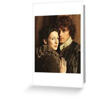 Claire And Jamie Outlander Greeting Card