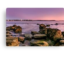 Shelly Beach, Manly Canvas Print