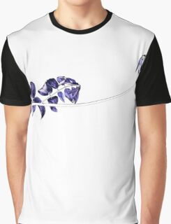 Vine in Purple Graphic T-Shirt