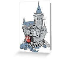 Once Upon a Time Istanbul Greeting Card