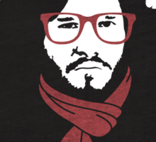 Hipster Jon Snow Sticker