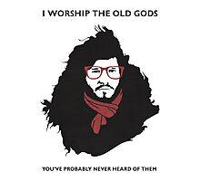 Hipster Jon Snow Photographic Print