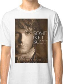 Jamie Fraser Outlander Cover Classic T-Shirt