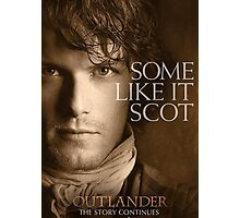 Jamie Fraser Outlander Cover Photographic Print