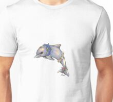 Floral Dolphin Unisex T-Shirt