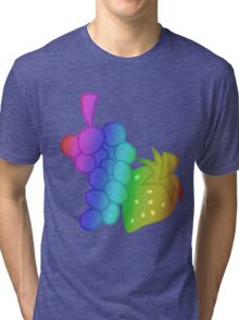 MLP - Cutie Mark Rainbow Special - Berry Punch Tri-blend T-Shirt