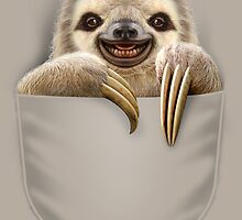 POCKET SLOTH by MEDIACORPSE