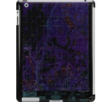 USGS TOPO Map Alaska AK Kenai C-3 SW 353721 1986 25000 Inverted iPad Case/Skin