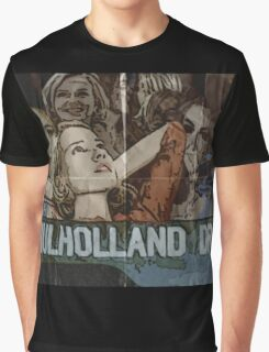 Mulholland Drive Poster Graphic T-Shirt