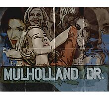 Mulholland Drive Poster Photographic Print
