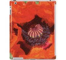 Poppy Fire iPad Case/Skin