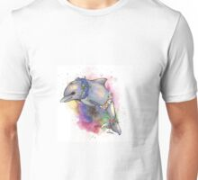 Floral Dolphin - Galaxy variant Unisex T-Shirt