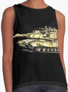M1 Abrams Main Battle Tank Contrast Tank