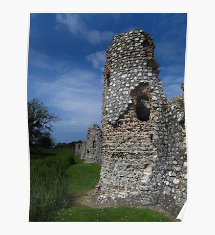 Crumbling Towers, Baconsthorpe Castle Poster