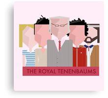 The Royal Tenenbaums - Wes Anderson Canvas Print