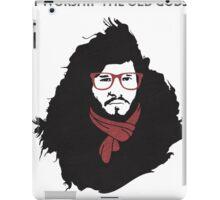 Hipster Jon Snow iPad Case/Skin