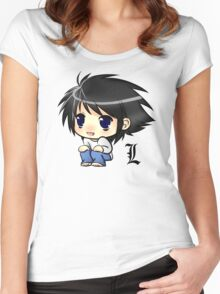 Note Chibi Women's Fitted Scoop T-Shirt