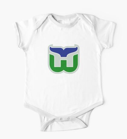 HARTFORD WHALERS HOCKEY RETRO One Piece - Short Sleeve
