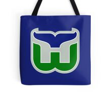 HARTFORD WHALERS HOCKEY RETRO Tote Bag