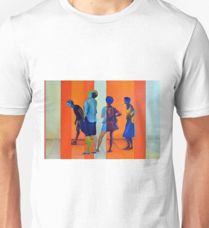 Searching for answers, 120-80cm, 2015, oil on canvas Unisex T-Shirt