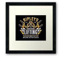 Ripley's Power Lifting Framed Print