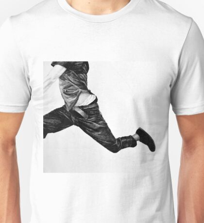 Standing in the way, 2015, 50-50cm, graphite crayon on paper Unisex T-Shirt