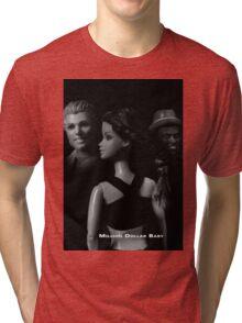 A Plastic World - Million Dollar Baby Tri-blend T-Shirt