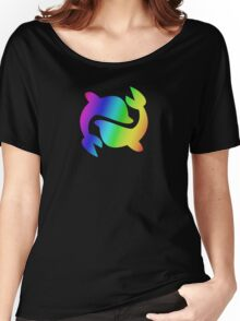 MLP - Cutie Mark Rainbow Special - Sea Swirl V3 Women's Relaxed Fit T-Shirt
