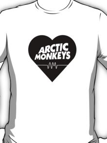arctic monkeys heart T-Shirt