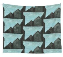 Net Huts: Roof Angles  Wall Tapestry