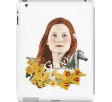 """Ginevra """"Too Cool"""" Weasley iPad Case/Skin"""