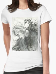 Draco Malfoy Womens Fitted T-Shirt