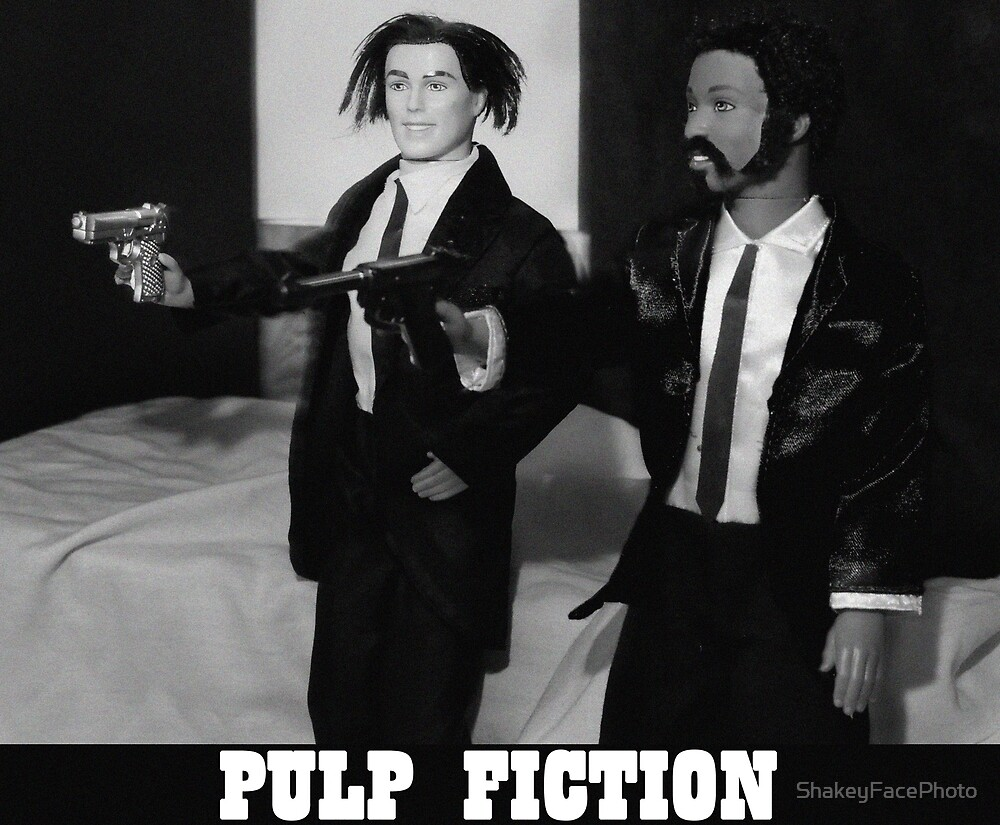 A Plastic World - Pulp Fiction by ShakeyFacePhoto