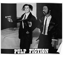 A Plastic World - Pulp Fiction Poster