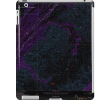 USGS TOPO Map Alaska AK Healy A-5 355919 1950 63360 Inverted iPad Case/Skin