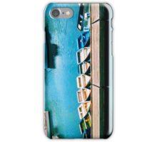Seaside Boats  iPhone Case/Skin