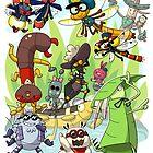 The Bug Pond Group by Momodriller