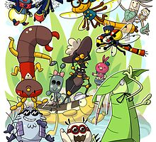 The Bug Pond Group by Momodriller
