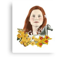 "Ginevra ""Too Cool"" Weasley Canvas Print"