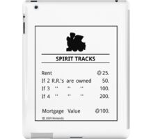 Spirit Tracks Monopoly iPad Case/Skin