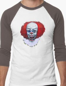 NOT clowning around-wall art Men's Baseball ¾ T-Shirt