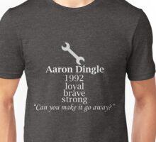 Aaron Dingle Text Unisex T-Shirt