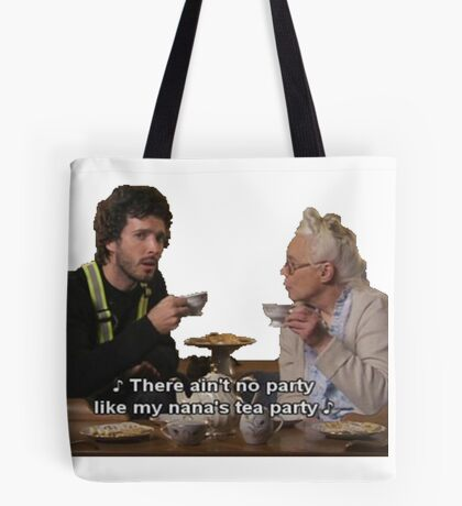 Flight of the Conchords - Tea Party Tote Bag